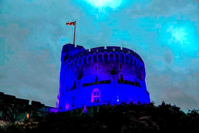 NHS - Blue - Windsor Castle