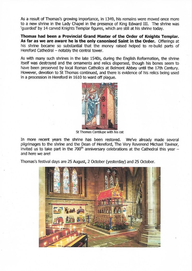 Hereford - Investiture - p20