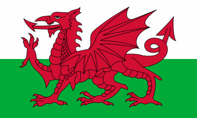 Flag of Wales 1959- present