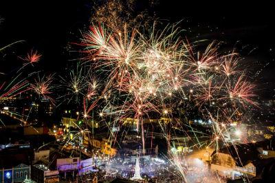 New Year - Yogyakarta, Indonesia