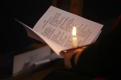 Candle and Hymn