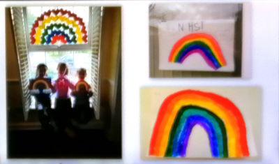 Childrens Rainbows - 5 April 2020