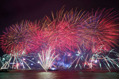 New Year - Hong Kong