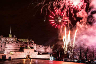 New Year - Edinburgh