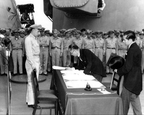 Tokyo Bay - 2 September 1945 - 2