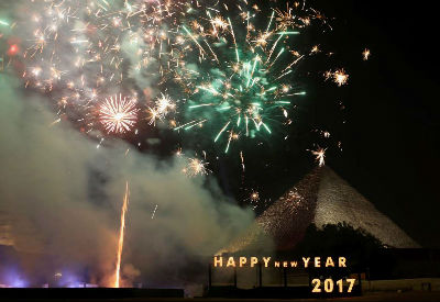 New Year - Cairo, Egypt