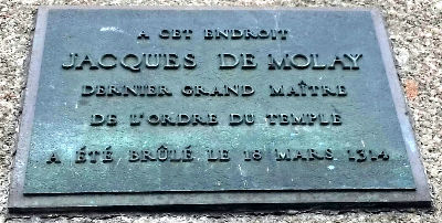 Jacques de Molay - Memorial