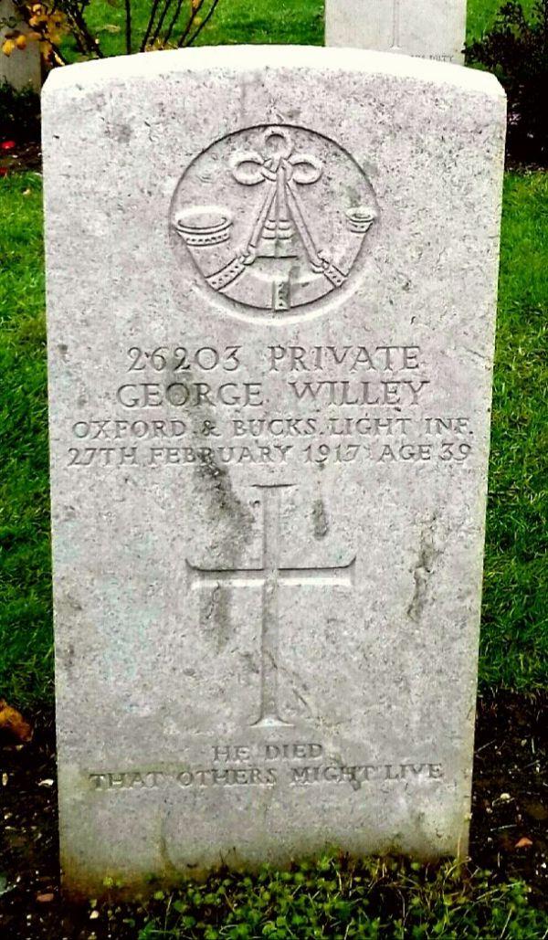 Warrior - George Willey