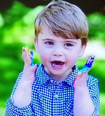 Prince Louis - aged 2