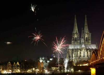 New Year - Cologne, Germany