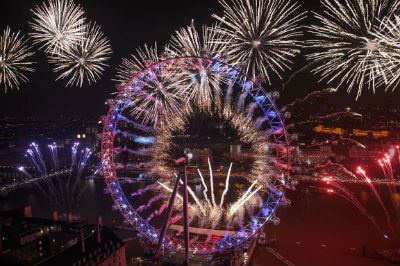 New Year - London