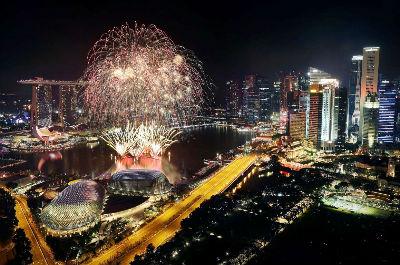 New Year - Singapore