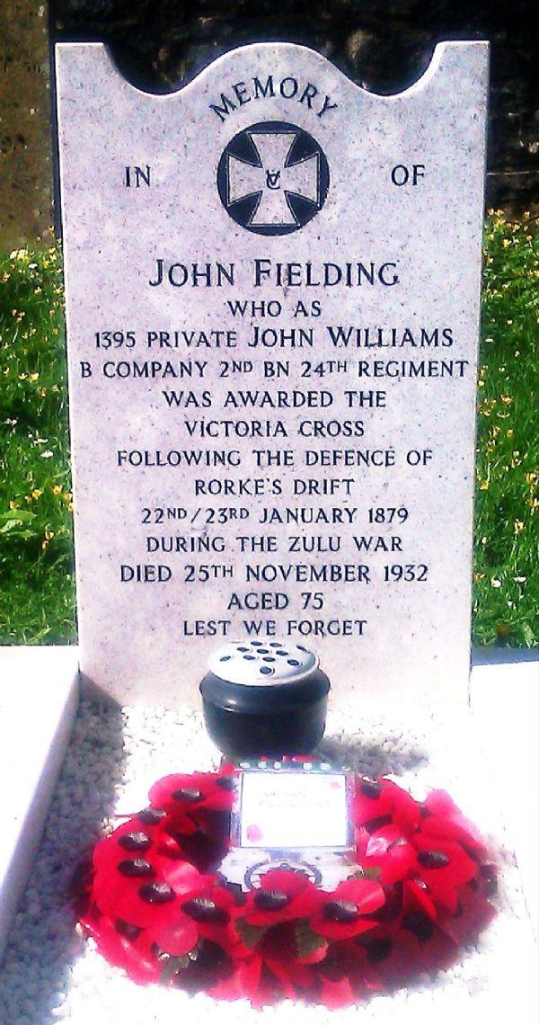 John Fielding Williams VC - headstone