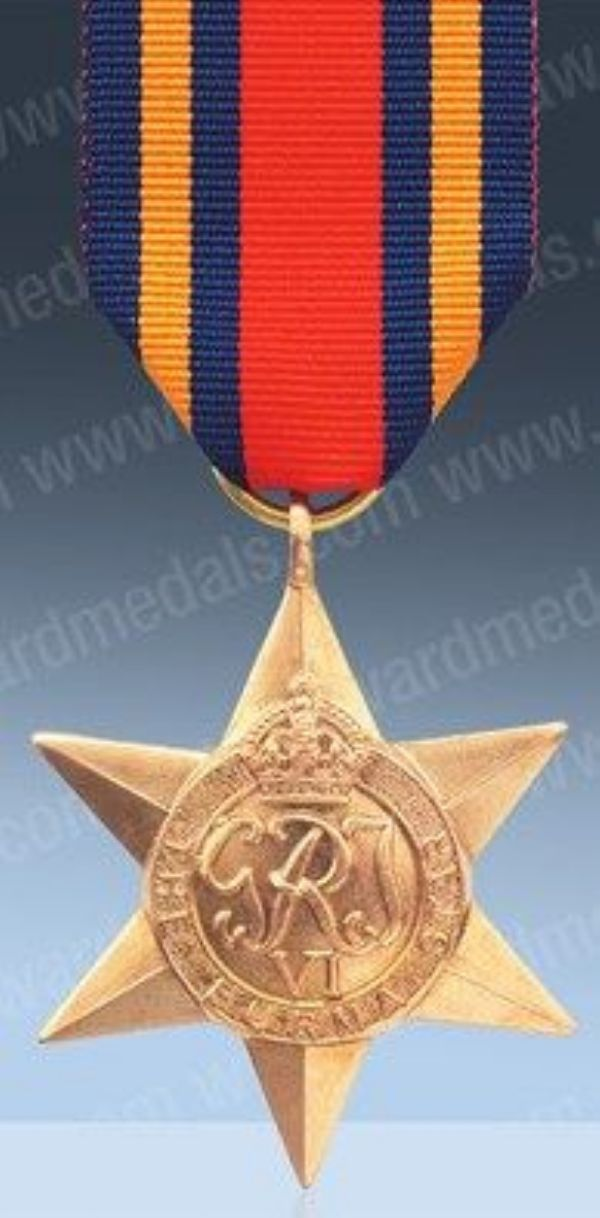 Burma Star Medal
