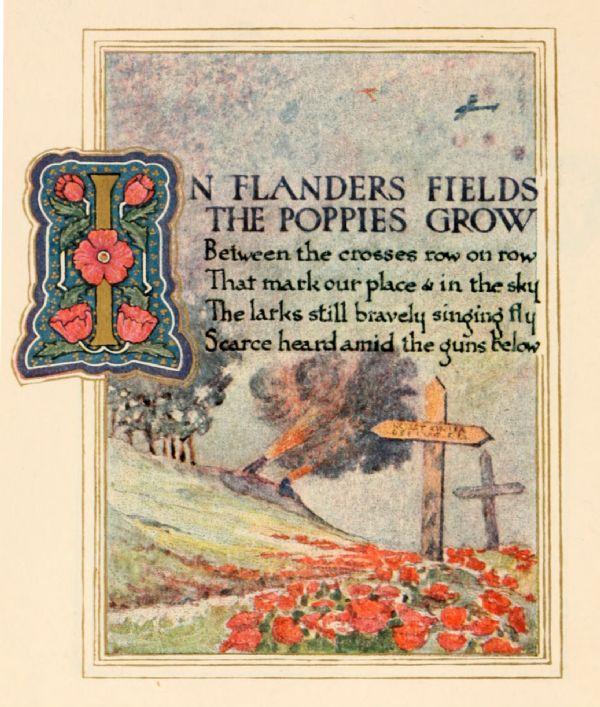 In Flanders Fields - 1921 page 1