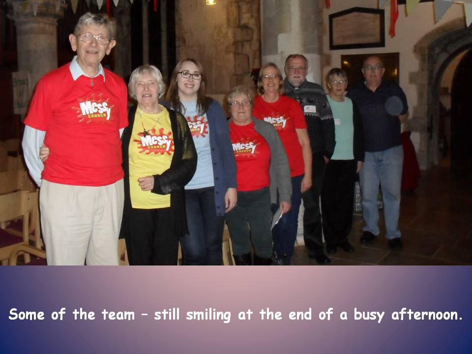 Messy Church Team