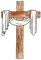 image of cross used on our publicity for Holy Week 2017