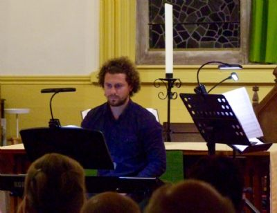 Photo R taken at the concert given by Sam Hanson & Band on 28th September 2019 at Lytchett Minster Parish Church