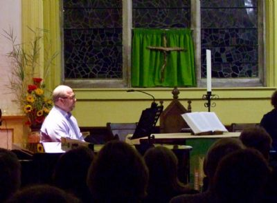 Photo N taken at the concert given by Sam Hanson & Band on 28th September 2019 at Lytchett Minster Parish Church