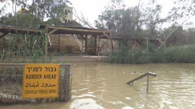 River Jordan. Photo taken during Holy Land Pilgrimage 29th Nov 2018