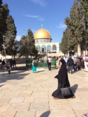 60 Dome of the Rock, Jerusalem.  Photo taken during Holy Land Pilgrimage 3rd Dec 2018