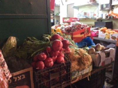 61  Market traders in Jerusalem. Photo taken during Holy Land Pilgrimage 3rd Dec 2018