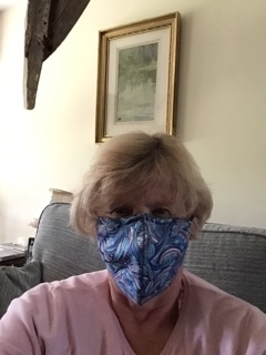 Mouth coverings by Jane P during the 'lockdown' time 29/5/20