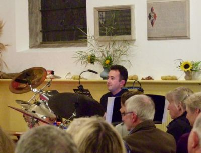 Photo B taken at the concert given by Sam Hanson & Band on 28th September 2019 at Lytchett Minster Parish Church