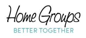 Logo for Home Groups