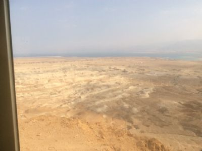 66 The view over the desert from Masada. Photo taken during Holy Land Pilgrimage 4th Dec 2018