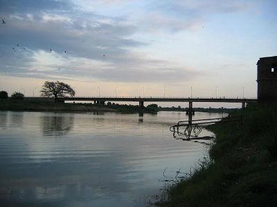 Bridge over River Jur