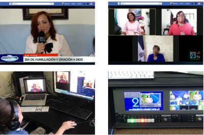 Images taken from Malcolm & Yanet Taylor News Update 19th April 2020