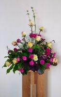 Flower Arrangement at St Dunstans