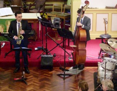 Photo taken at the concert given by Sam Hanson & Band on 28th September 2019 at Lytchett Minster Parish Church