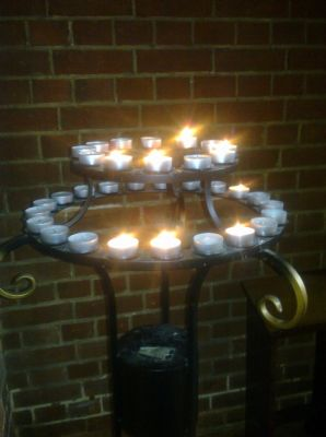 St Lukes Prayer Candles