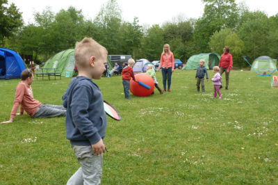 games on the campsite