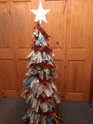Faith  Friendship Newspaper Tree