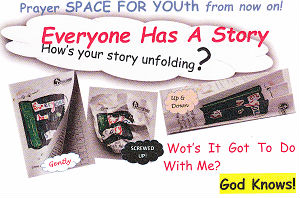 Everyone Has  a Story youth leafleet