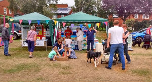 Toton Churches stall at Tesco Family Fun Day July 2017