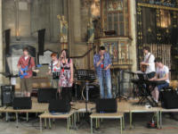 Easter Youth Pilgrimage band