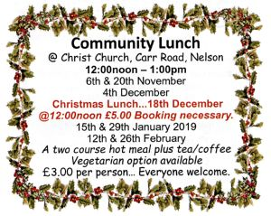 Community Lunches