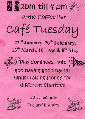 Cafe Tuesday Poster