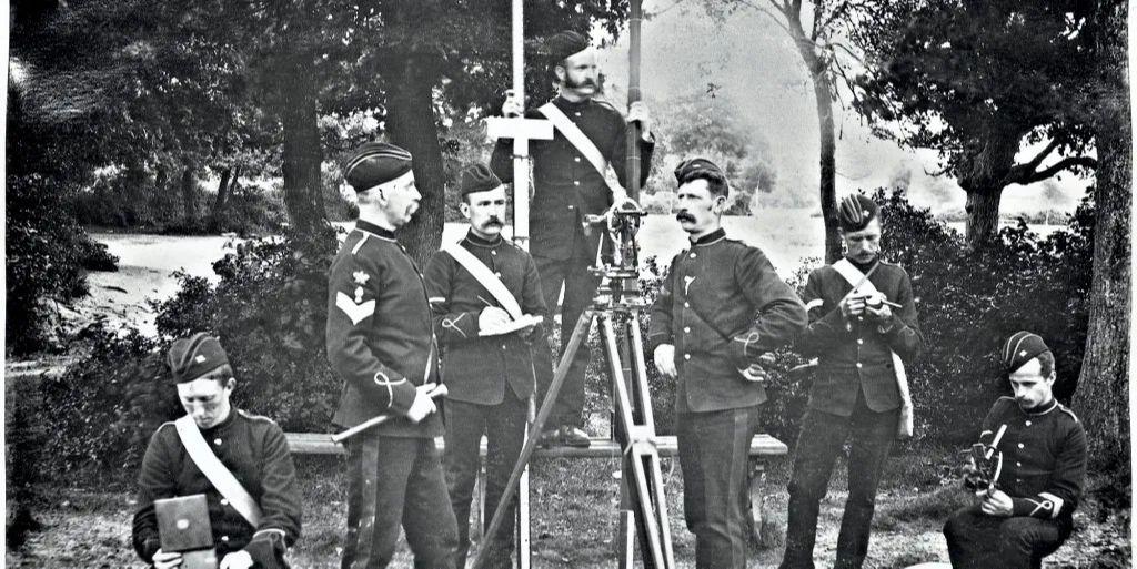 Ordnance Surveyors in the 1870s