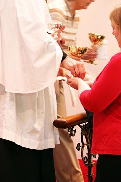 Communion at St Pauls