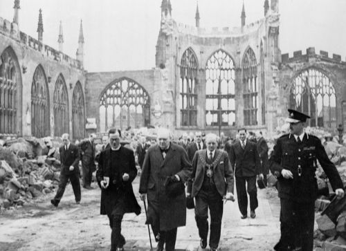 Churchill in Coventry