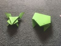 origami frogs craft