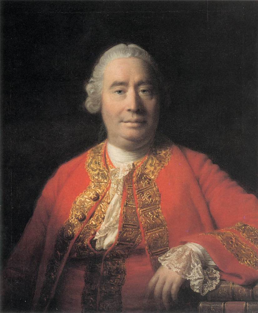 David Hume portrait
