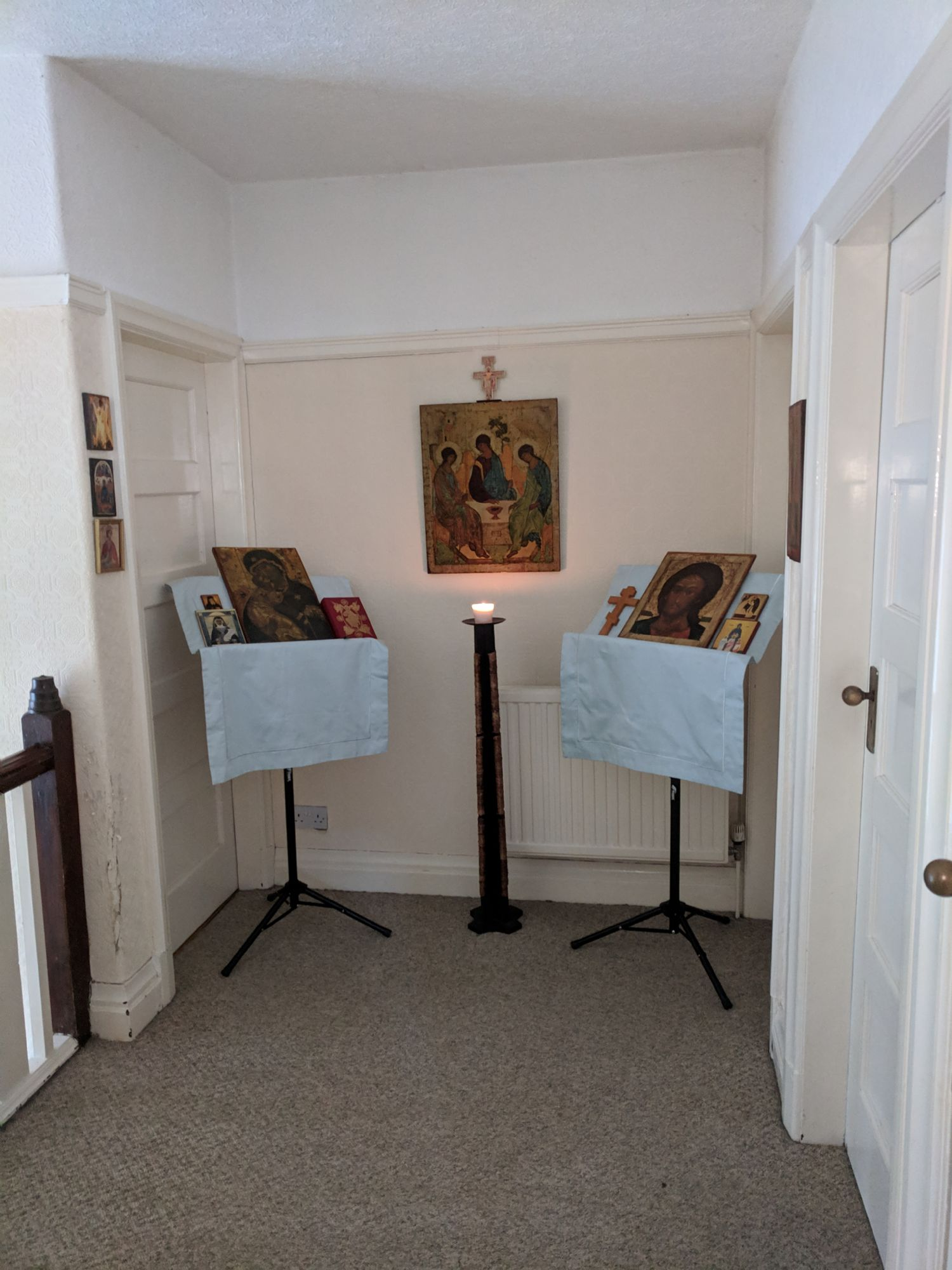 Domestic oratory in Oldham