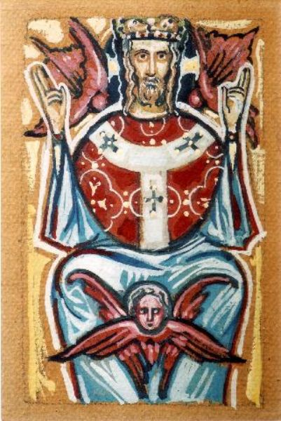 Christ Enthroned (Kovalevsky)