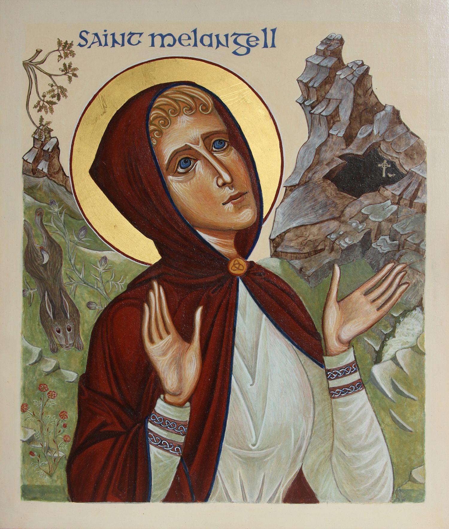Icon of St Melangell